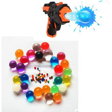 2000Pcs Color Crystal Paintball Bullet Water Soft Bullets Nerf Gun Toy Gun Accessories Crystal Mud Soil Orbeez Ball