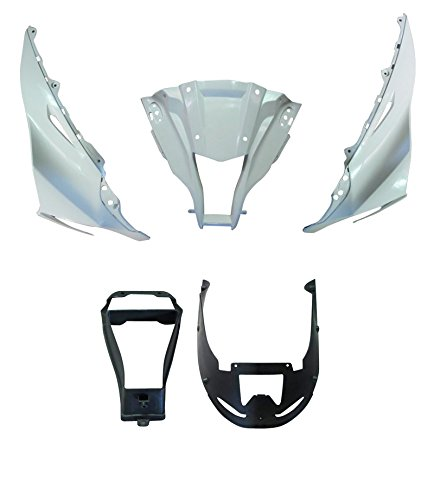 Front Cowl Nose Upper Splash Guard Left Right Panel Fairing Front Vent Cover For Kawasaki Ninja ZX10R ZX-10R 2011 2012 2013 motorcycle radiator protective cover grill guard grille protector for kawasaki z1000sx ninja 1000 2011 2012 2013 2014 2015 2016