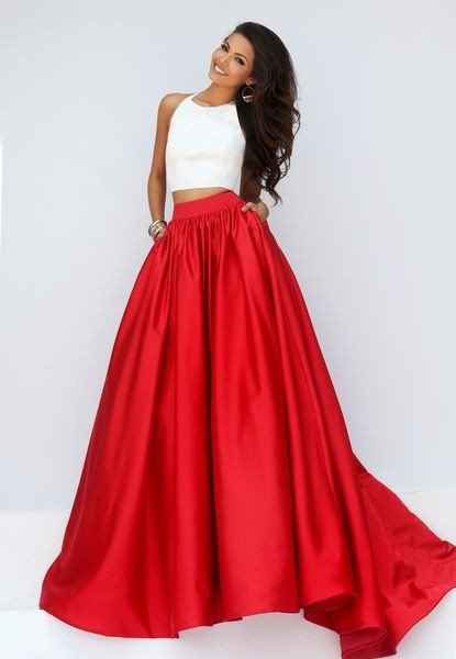 559bad39678 WBCTW High Low Skirts Ball Gown Style Maxi Long Red Party Skirt Solid 10XL  Plus Size Autumn Spring High Waist Satin Skirt