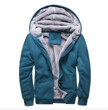 New 2017 Men's Fleece Hooded Thick Winter Jackets Warm Outerwear Hiking Jacket Autumn Climbing Clothing