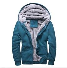 Novo 2017 de Inverno dos homens Com Capuz de Lã Grossa Casacos Quentes Casacos Caminhadas Escalada Roupas Jaqueta de Outono