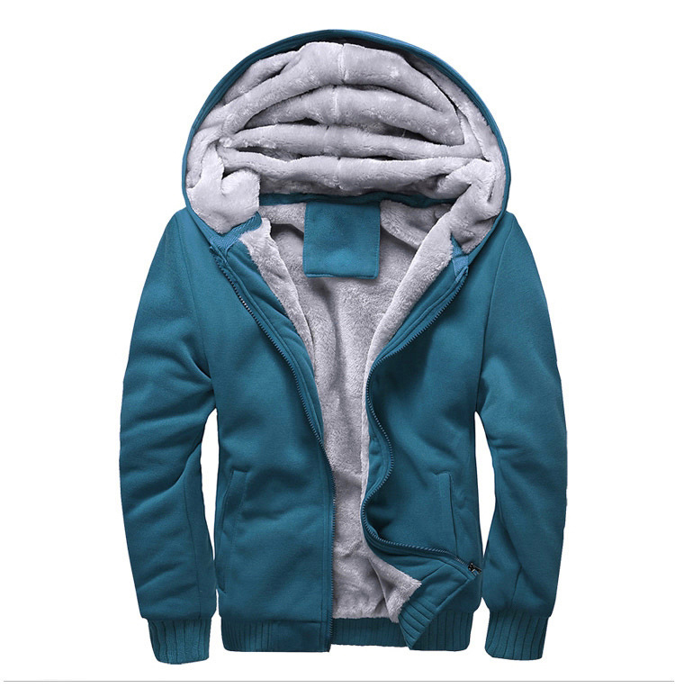 New 2019  Men Thermal Fleece Hooded Thick  Winter Jackets Warm Outerwear  Autumn Climbing Clothing Hiking Jacket