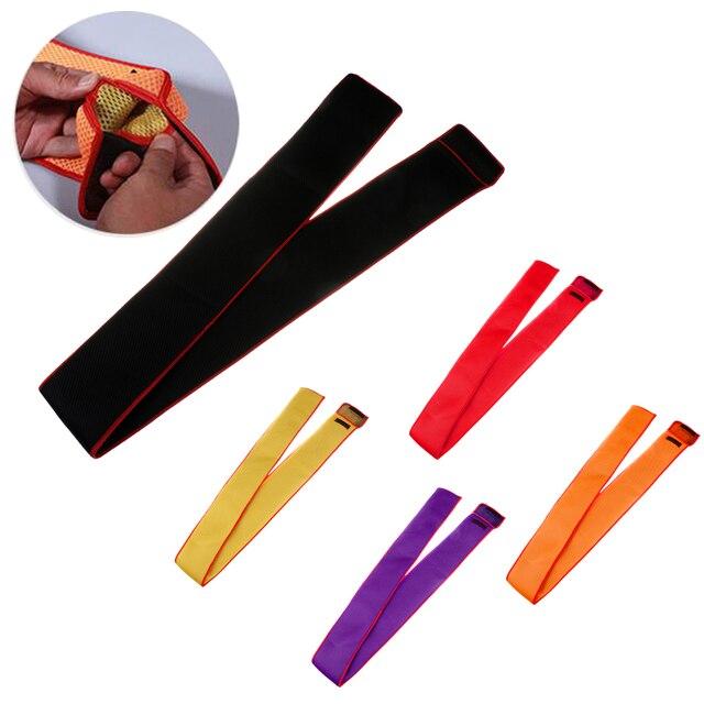 Tragbare Angelrute Tasche Weiche Stange Hülse Abdeckung Grid Design Angelrute Handschuh Stange Protector Pouch 155cm * 12,5 cm 5 Farben
