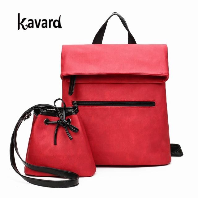 9a457b53f5c61 Comprar uno y obtener uno gratis mujer mochila mujer Oficina bolso mochila  sólido bolsa casual damas