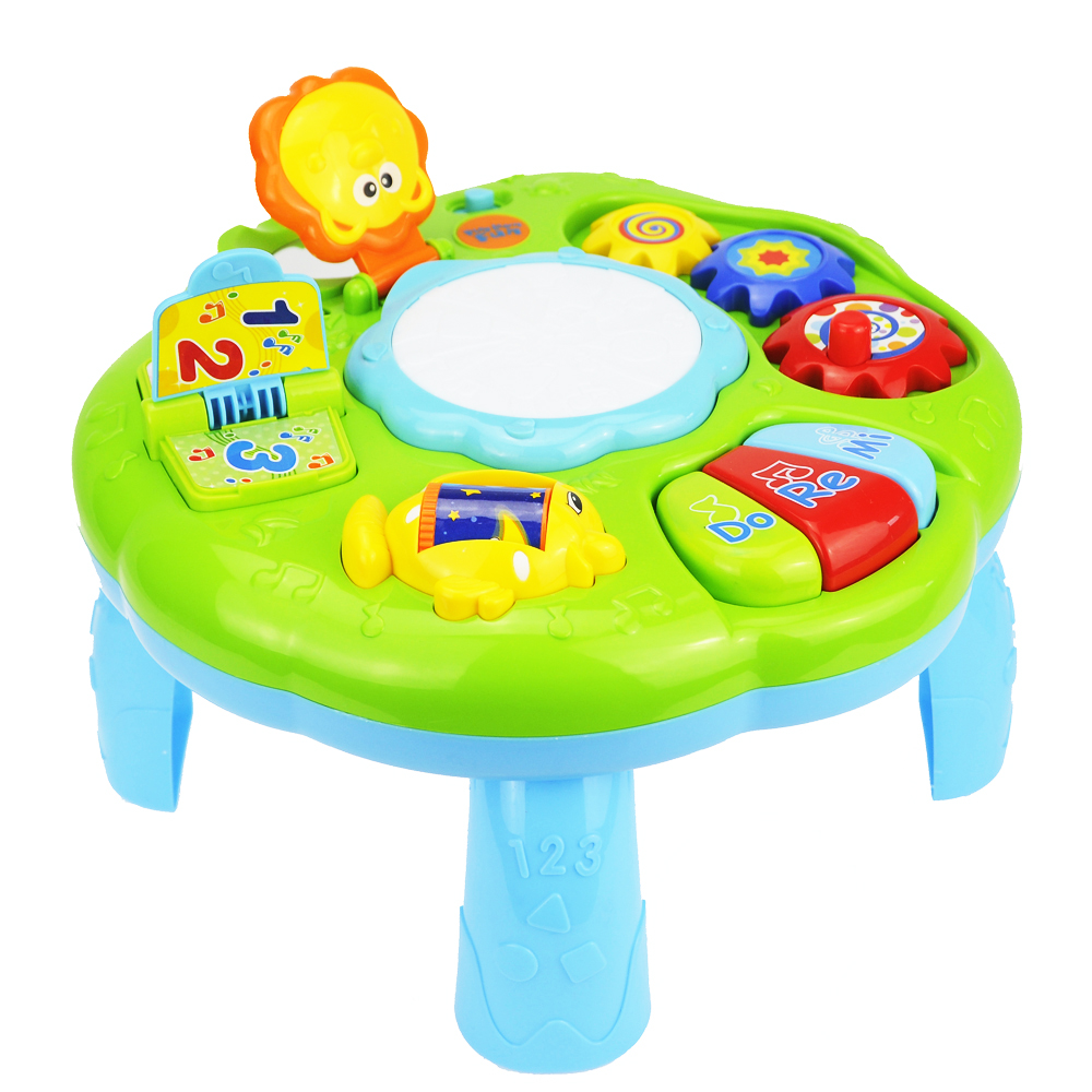 Baby Toys Educational 13-24 Months Musical Toys For Baby Toddlers Infants Activity Play Table Brinquedos Para Bebe Oyuncak baby toys educational 13 24 months musical toys for baby toddlers infants activity play table brinquedos para bebe oyuncak
