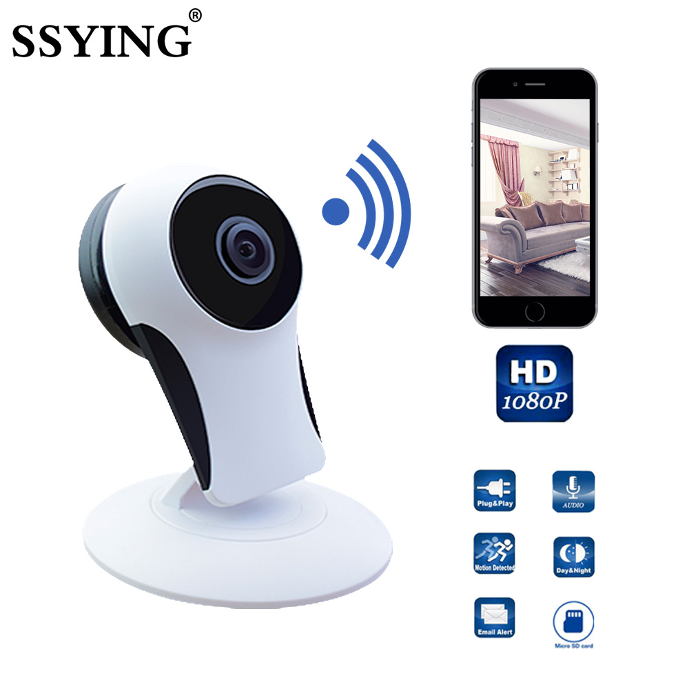 HD 1080P Smart Wireless Baby Monitor IP Camera Wifi Baby Security Camera Electronic Network Monitors For IOS Android Cellphone 720p wifi ip network baby monitor camera miniature wireless camera detectors kids monitors