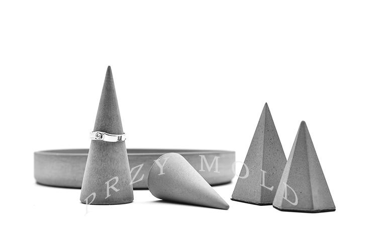 Silikagel silikonform beton zement ring armband schmuckständer - Küche, Essen und Bar - Foto 1