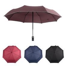 Led Light Rain Mujeres Paraguas sombrilla UV umbrella Hombres con linterna Torre Eiffel sol Tres paraguas plegable automática sombra 3