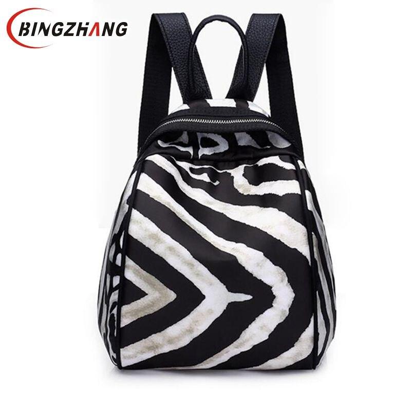 Die Zebra Streifen Mode Frauen Taschen Tote Tasche Kurze Bildpaket Große einkaufstasche Italienische street style Schultertasche L8-91