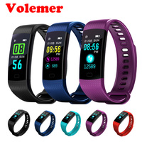 Volemer Y5 Color Screen Smart Wristband Fitness Sport Tracker Smart Band Blood Pressure Heart Rate Smart