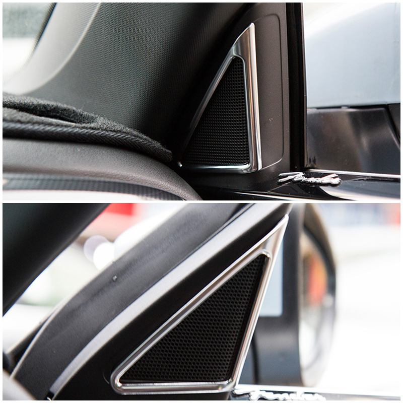 Fit For volkswagen New Beetle 2013 to now ABS Decorative Sequins panel frame trims decorative Ring