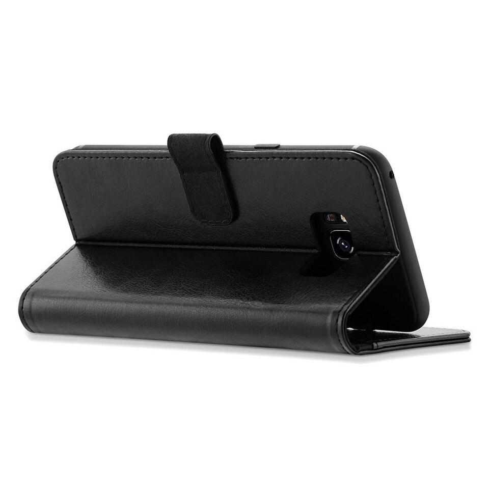 Samsung S8 Case շքեղ կաշվե դրամապանակի - Բջջային հեռախոսի պարագաներ և պահեստամասեր - Լուսանկար 3