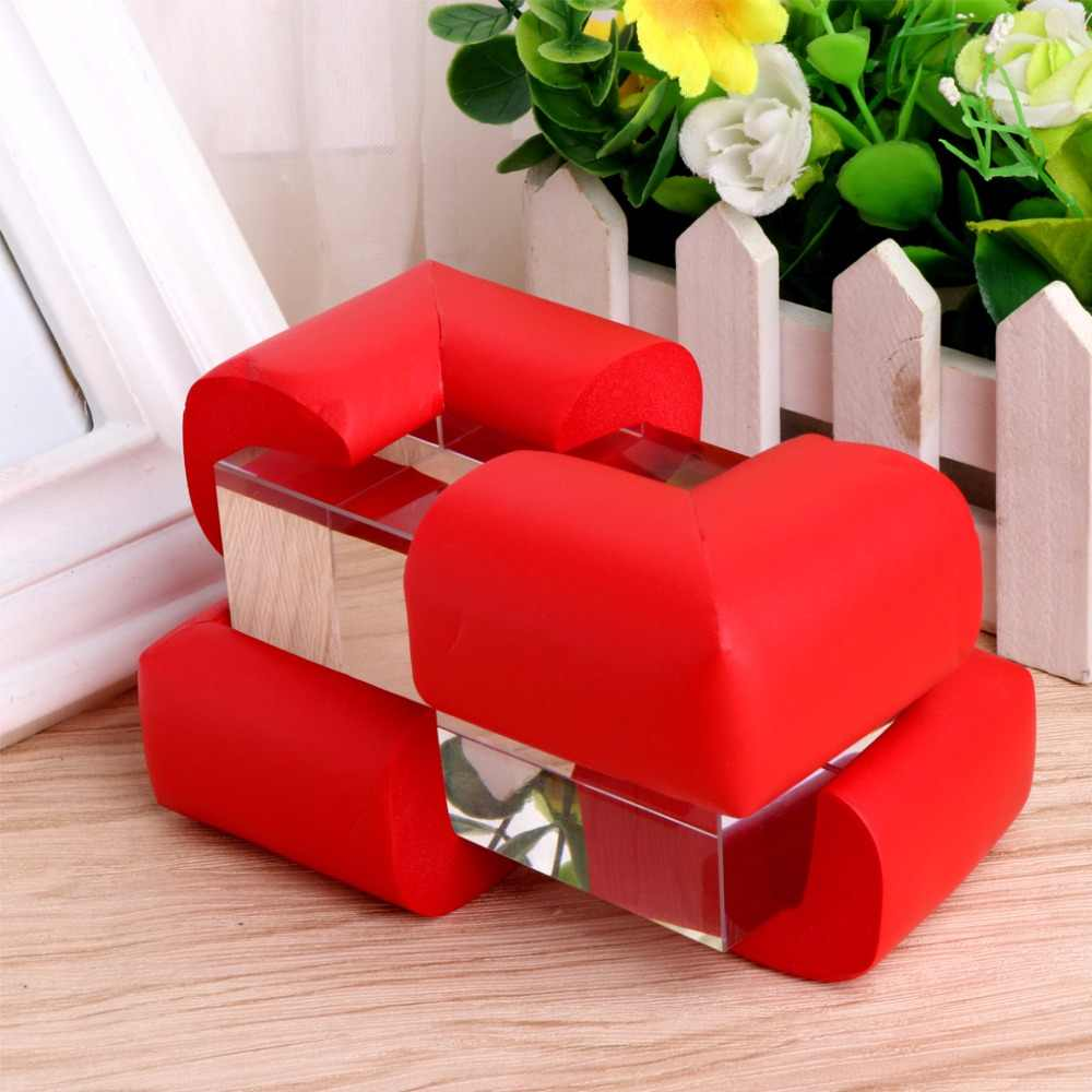 New 10Pcs Baby Safety Table Desk Edge Corner Cushion Guard Soft Bumper Protector