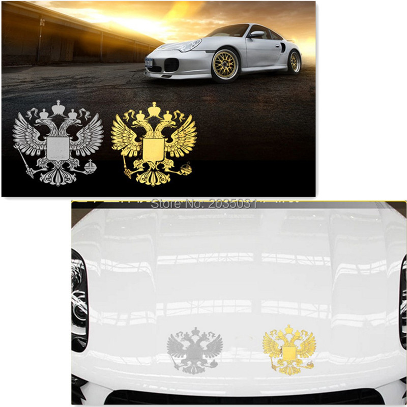 2018 Latest Car styling Russia badge sticker decal for ford focus 2 kia rio chevrolet cruze toyota solaris kia ceed lada vesta