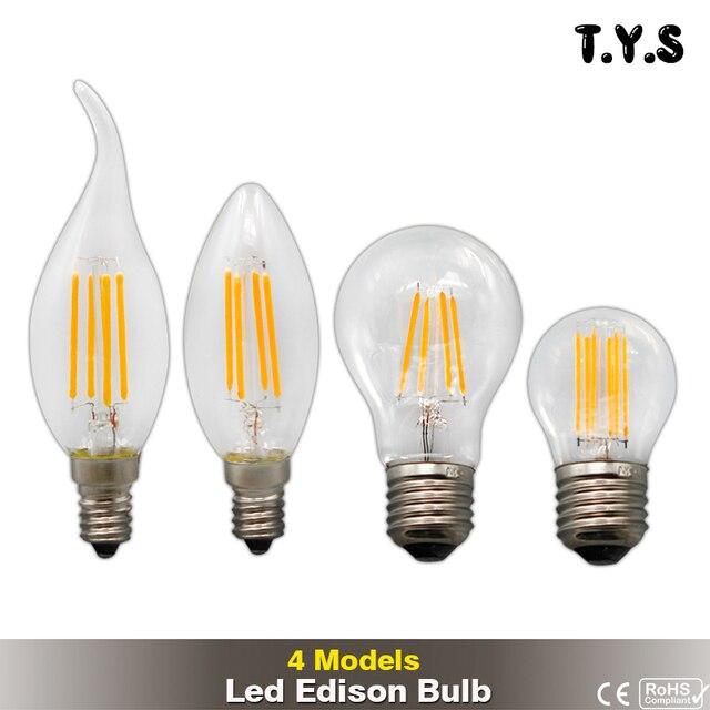 Retro Led Edison Bulb E14 E27 ampoule vintage Led Filament Light G45 C35 Lampada 220v Led.jpg 640x640 5 Élégant Lampe Economique Led Ldkt