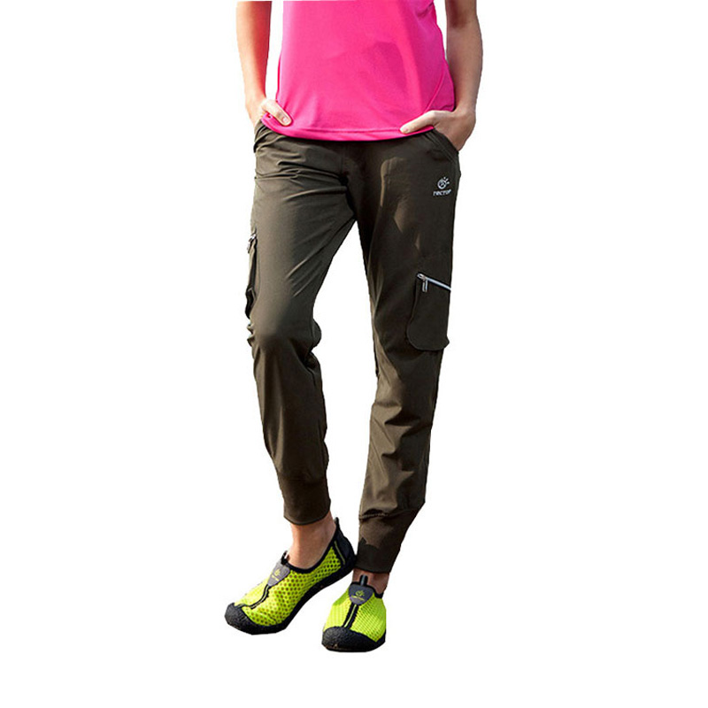TECTOP Spring Summer Outdoor Sportswear Hiking Pants Women Waterproof Quick drying Breathable Female Climbing Trousers