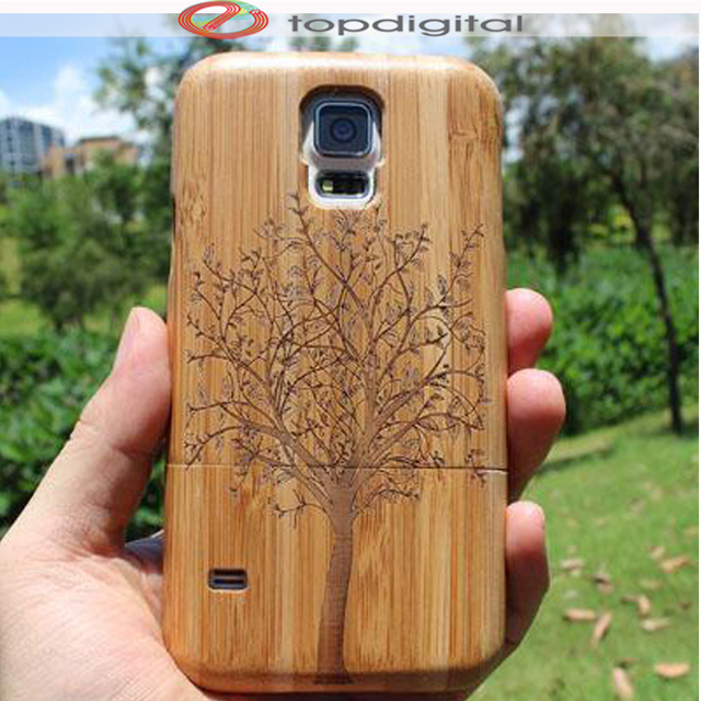 sports shoes e371f 4432f US $12.29 |Felidio Handmade Carving Wood Case for Samsung Galaxy S5 i9600  G900F Phone Case Hard Case for Samsung S5 Protective Shell Shield-in Fitted  ...