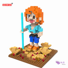 SC: ONE PIECE (OP) Her Beauty 1052 Diamond Micro Nano Building Blocks Action Figure boy & girl gifts
