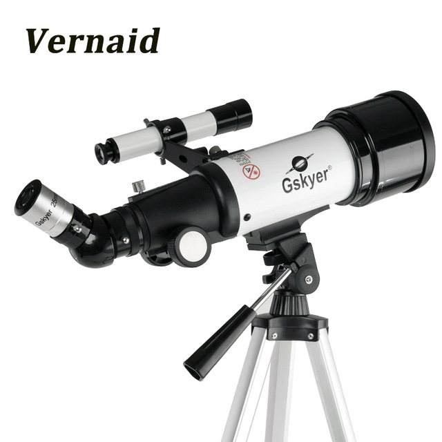 Gskyer 70AZ(400 X 70mm) German Technology Refractor Astronomy Telescope HD High Quality gskyer telescope 600x90mm az astronomical refractor telescope german technology scope power astronomical mirror telescope