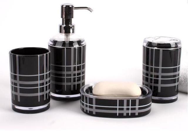 Bad zubehör Acryl Bad Serie Badezimmer set Zubehör Umweltfreundliche ...