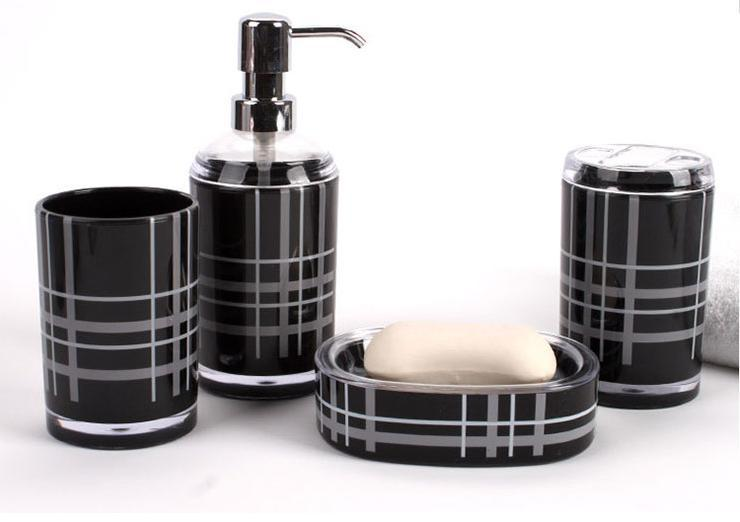 bathroom accessories Acrylic Bath Series Bathroom Set Accessory Eco ...