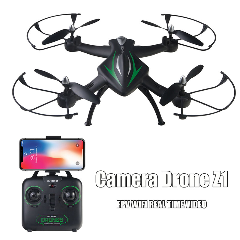 Rc Drone Camera Wifi FPV Drone Height Hold APP One <font><b>Key</b></font> Return Quadcopter Remote Control <font><b>Toys</b></font> Z1 Model for boys image