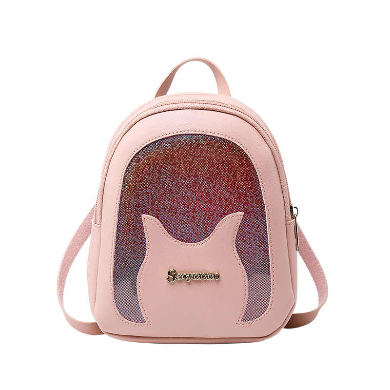 New Designer Fashfashiion Women Backpack Mini Soft Leather Multi-Function Small BackpackS Female Ladies Shoulder Bag Girl Purse