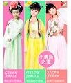 Новый Горячий Китайский Дети Древний Фея Принцесса Драматургического Показать Костюм Одеяние Платье Классические танцевальные костюмы для детского дня
