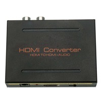 HDMI to HDMI + SPDIF Optical ,RCA L / R Audio Converter Adapter Splitter