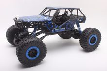 RC Araba 2.4 GHz Kaya Paletli Ralli Araba 4WD Kamyon 1:10 Ölçekli Off-road Yarışı Araç Buggy Elektronik RC Model Oyuncak HB-P1002(China)