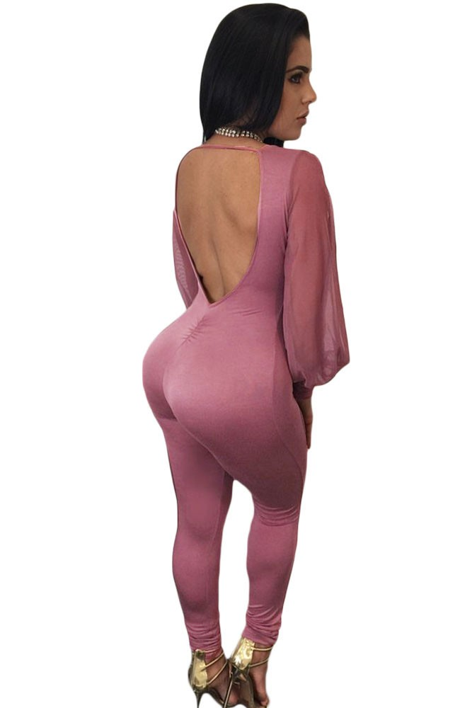 Purplish-Sheer-Split-Long-Sleeve-Open-Back-Jumpsuit-LC64141-8-2