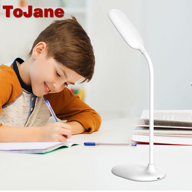 Lâmpadas de Mesa leitura 5 w recarregável led Color Temperature : 4000k Led Desk Lamp