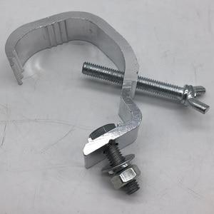 Image 5 - Ganchos ligeros de Material aluminio 100 Uds. 30 50mm rodamiento de carga 25kg para DJ Disco luz Par luz con cabezal móvil para escenario ganchos de barra de Club