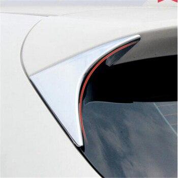 Eazyzking 2 قطعة/المجموعة النافذة الخلفية المثلث غطاء الخارج الملحقات سيارة ملصقا ل مازدا cx5 2012-2017 سيارة-التصميم