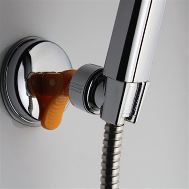 Useful Adjustable Shower Head Stand Bracket Holder For Bathroom Use Elegant Shower Holder GI678908