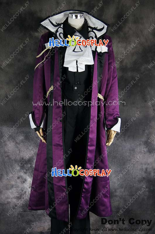 65% cotton+35% polyester Reiga Giou Uniform Costume  from Betrayal Knows My Name UraBoku Cosplay H008