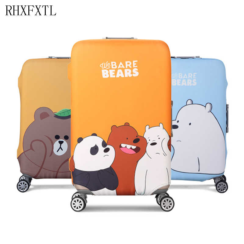 RHXFXTL luggage cover trolley suitcase Elasticity protective covers travel accessories luggage case 18-32 inch suitcase case H29