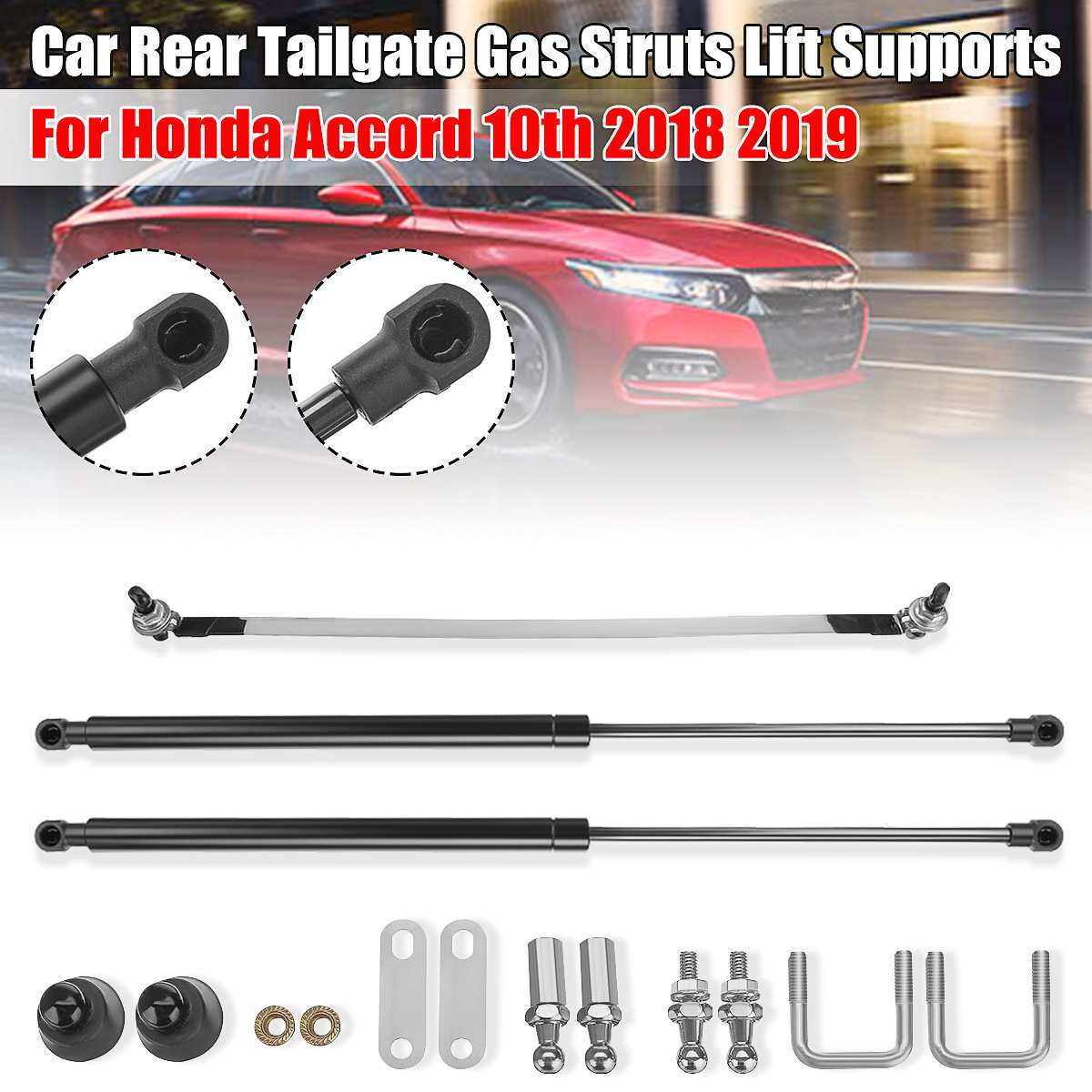 // TRUNK-LIFT SPRING// PRESSURE SHOCK ABSORBERS Tailgate 2x Gas Strut