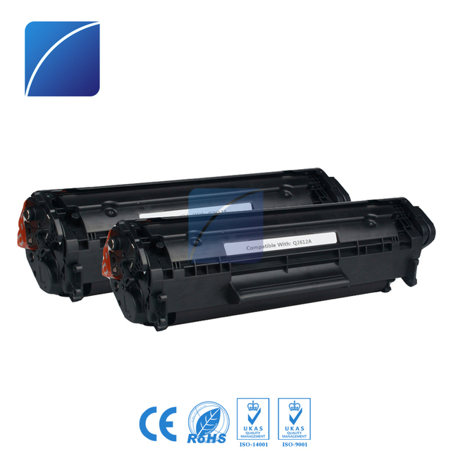 Q2612A 12A Toner Cartridges Compatible For HP 1010 1012 1015 1018 1020 1022 1022n 1022nw 3015 3020 3030 3050 3052 Laser Printer 3