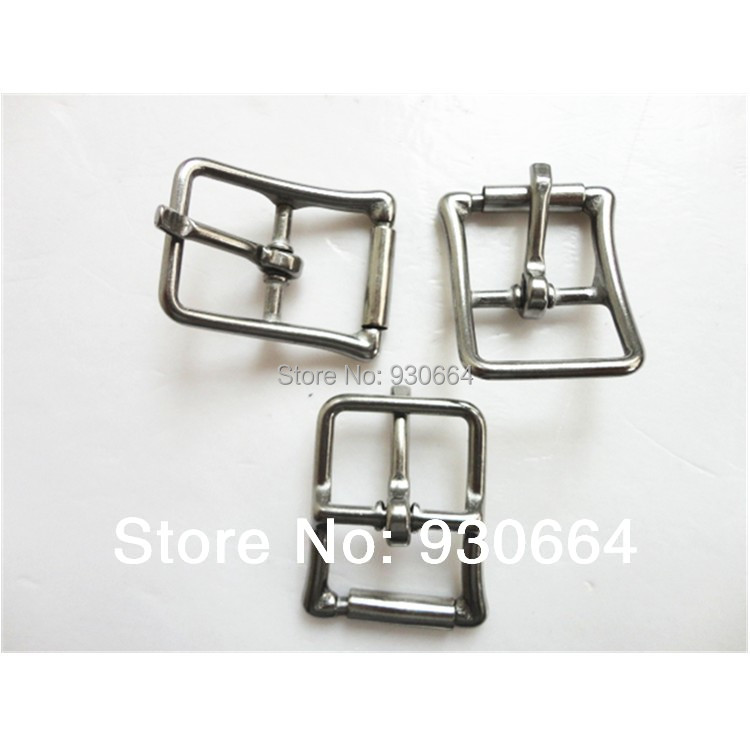 50PCS/Lot Stainless Steel Center Bar  Buckle With Roller  Bag Buckle 2.1mm W022