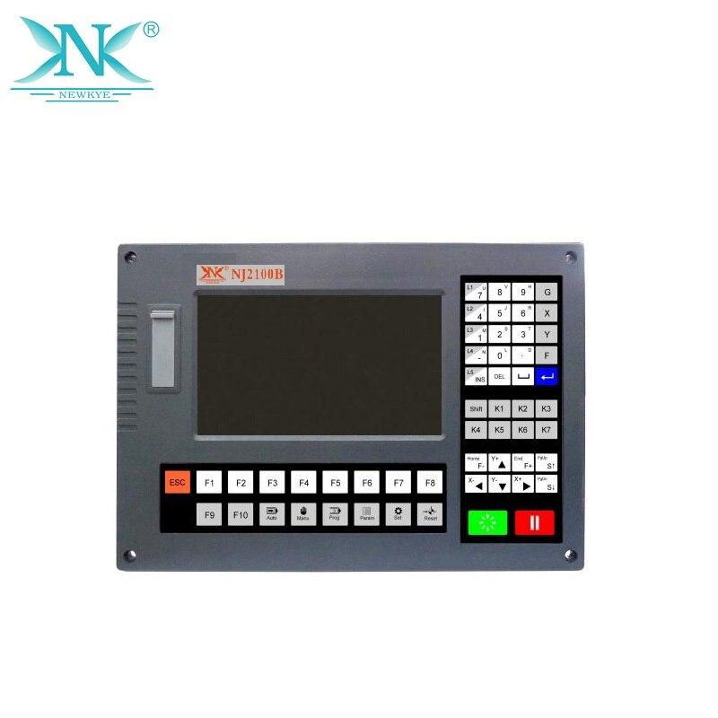 "7"" plasma cutter controller NJ2100B CNC control system for plasma cutter"