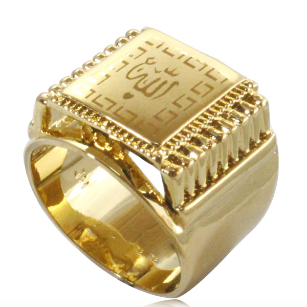 Islam Muslim Allah Ring For Men Women Charm Arabic Fashion Jewelry Gift In Rings From Accessories On Aliexpress