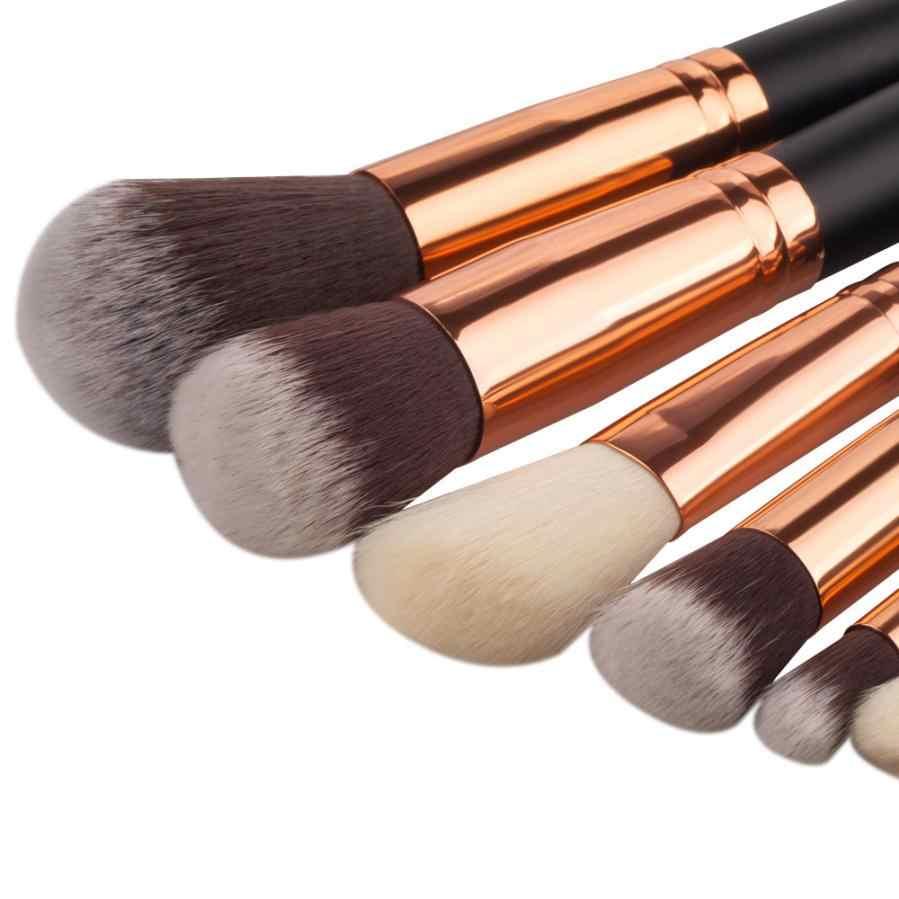Pincel de maquiagem 2018 Moda Hot! 8 Pcs Mini Ferramentas de Cosméticos Sobrancelha Sombra Pincel Pincéis de Maquiagem Conjuntos Kits June25