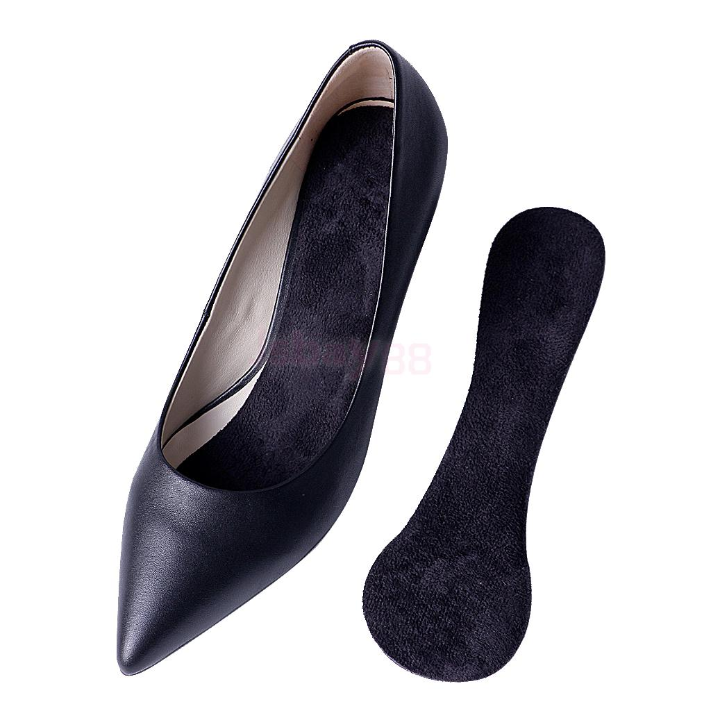 High Heels Insoles Silicone Gel Insoles for Womens Shoes Durable Comfortable Heel Inserts Plantar Fasciitis Heel Pain Relief
