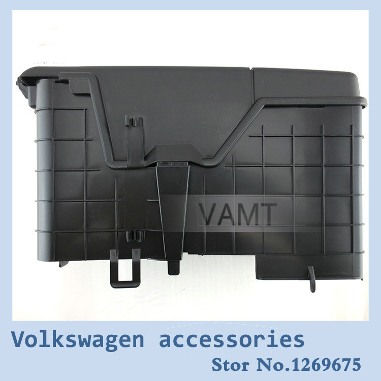 vw car styling battery protection box case 3 pieces for. Black Bedroom Furniture Sets. Home Design Ideas
