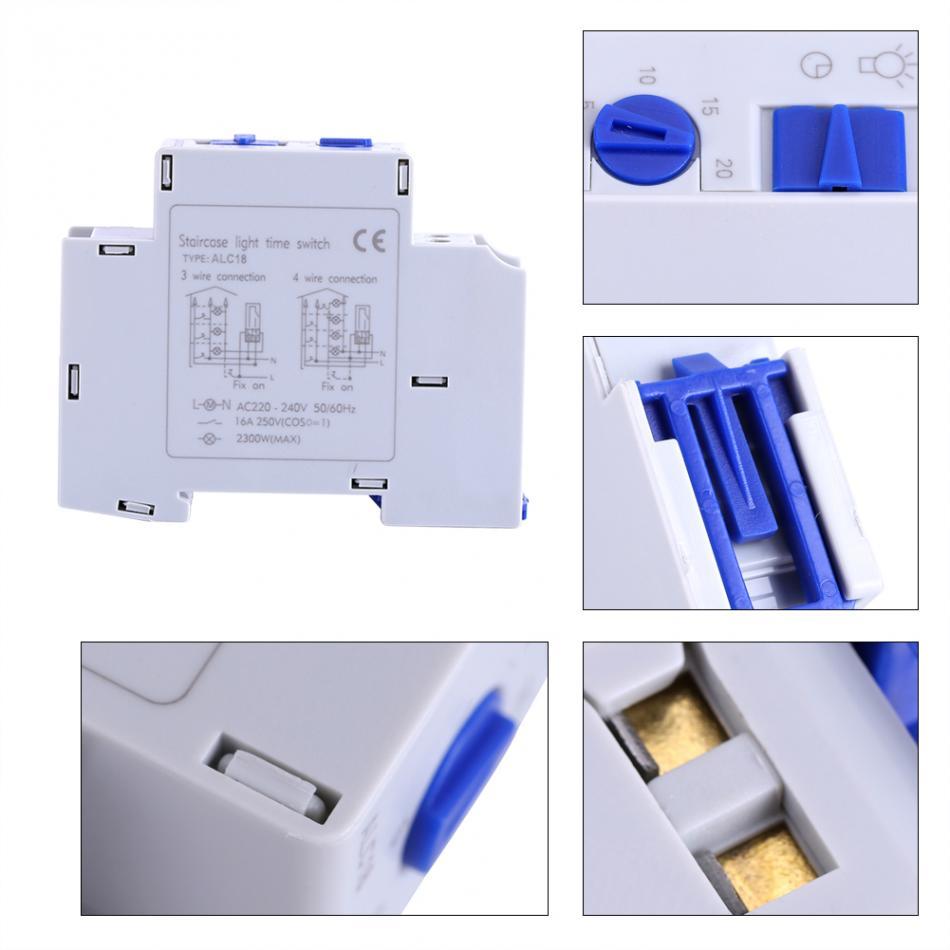 Timer Ac 220-240 V 1500 Watt Mechanische Home Appliance Treppe Elektronische Zeit Relais Timer Schalter Korridor Timer Werkzeuge