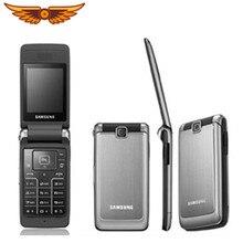 S3600 Original Entsperrt Samsung S3600 1,3 MP 2,8 Zoll GSM 2G Unterstützung Russische Tastatur Flip Verwendet Handy Freies verschiffen