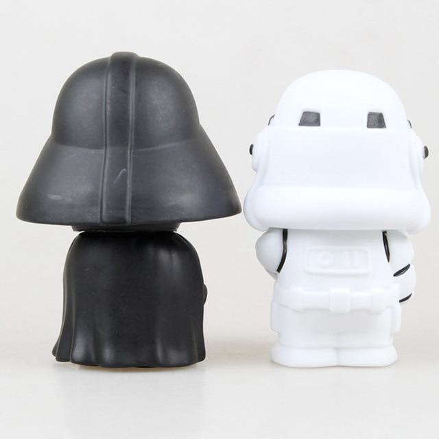 Star Wars Yoda Darth Vader Action Figure Doll Toys The Force Awakens Jedi Master Yoda Anime Figures Lightsaber 5
