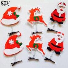 Ktlparty детская взрослых Рождество оголовье олени/Снеговик/Санта Клаус Рождество шпильки оголовье Hairband головной убор