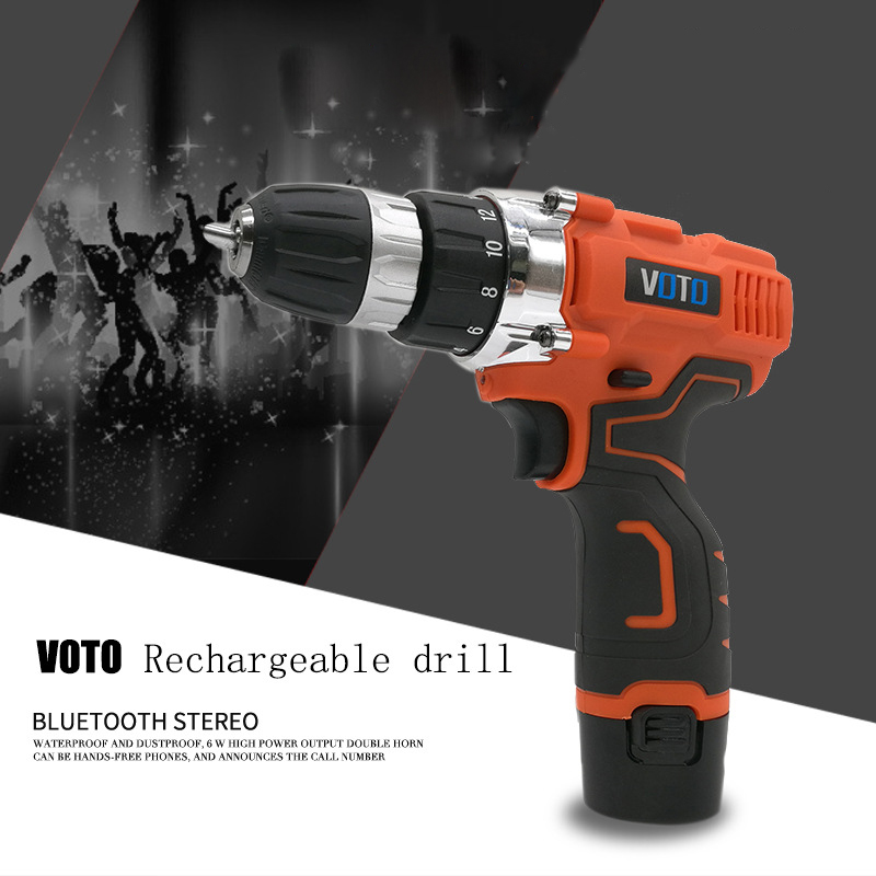 21V Electric Drill Household Multi-function Electric Screwdriver Double Speed Lithium Cordless Drill Power Tools цены